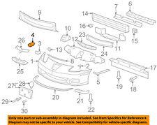 Chevrolet GM OEM Corvette Front Bumper-Cover Retainer Clip or Bracket 11609871