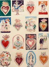 El Barrio Hoyo-8281A -Foklorica Fabric - Alexander Henry Fabrics Tea Dyed Cotton
