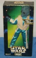 Greedo Star Wars Action Collection Star Wars Figure With Box Kenner 1997 Vtg.