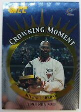 2002 Topps TCC Crowning Moment Michael Jordan #CM4, Bulls Finals MVP Wizards