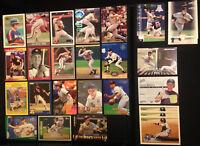 Craig Biggio Houston Astros (26 ct) 1990s Baseball Card Lot; HOF Hall of Fame
