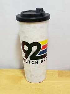 Dutch Bros Brothers Since 92 18oz Coffee Tea Travel Tumbler Mug Rare