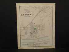 New York Long Island Map 1873, Far Rockaway N3#57