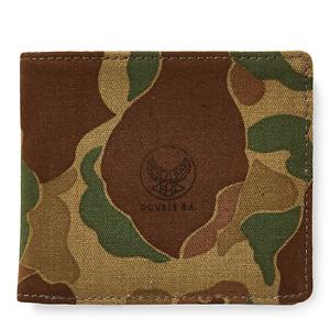 Ralph Lauren RRL Japanese Cotton Twill Camo Billfold Card Case Wallet New Canvas