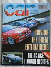 Car Dec 1993 AC Ace, Tatra 613/5