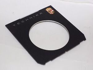 LINHOF lens board for Copal #3 shutter. Super Technika IV, V and Master Technika