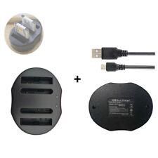 NP-BN1 Battery DUAL USB charger for Sony Cyber-shot DSC-TX7 DSC-TX5 DSC-W350