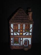 Seltenes hochwertiges Teelichthaus - Wohnhaus mit Blumen - 2tlg. , gemarkt