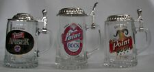 Stevens Point Brewery 140 Anniversary 1997, 1995 Point Amber Beer steins, pick 1