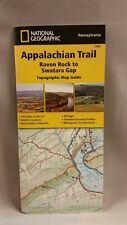 National Geographic Appalachian Trail Map Guide PA Raven Rock - Swatara Gap 1506