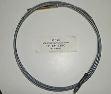 New Original VW Clutch Cable - Made in W. Germany - 111-721-335 C