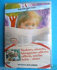 walter matthau kotch vedovo aitante bisognoso affetto offresi anche baby sitter