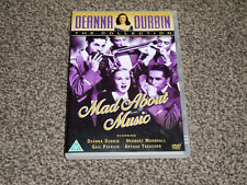 DEANNA DURBIN : MAD ABOUT MUSIC - DVD IN VGC (FREE UK P&P)