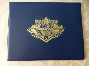 1969 World Champion Miracle Mets 25th Anniv. Commemorative Cap Sheet New W/COA