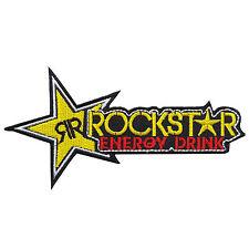 Rockstar Energy Drink Metal Mulisha Biker Motorcycles Rock Iron-On Patches #B082
