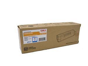 Genuine OKI C5650 / C5750 Cyan Toner Cartridge