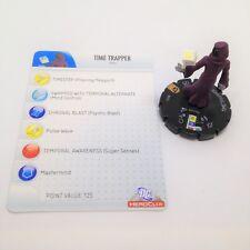 Heroclix Justice League set Time Trapper #056 Super Rare figure w/card!
