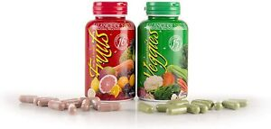 BALANCE OF NATURE FRUITS & VEGGIES 90 CAPSULES EACH ( FREE SHIPPING)