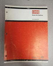 Case 26C Backhoe Back Hoe Parts Catalog Manual B1207 1974