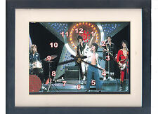 Bay City Rollers. Celebrity framed print and clock. Rollermania