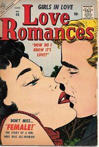 Love Romances 68 (1957) Mid Grade