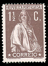 Portugal #210 MHR CV$20.00 (Chalky Paper) Ceres