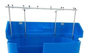 Burtons Splash Back Protection for Easy Groom Tub - Blue