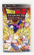 DRAGON BALL Z TENKAICHI TAG TEAM - PSP - PAL ESPAÑA - SONY TAGTEAM