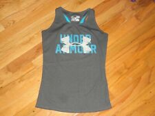 Girl's Under Armour Gray Tank Top Size YLG