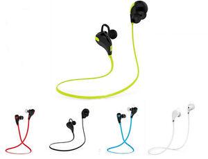 Wireless Bluetooth Handfree Headset Stereo Sport Headphone Earphone Universal