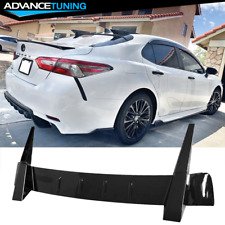 Fits 18-20 Toyota Camry Gloss Black Rear Window Roof Spoiler Wing