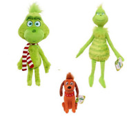 Xmas Grinch Dolls How the Grinch Stole Christmas Stuffed Plush Kids Toy Gifts