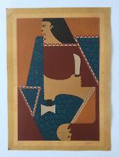 Luis Maisonet Ramos, Signed Playing Cards Baraja Serigraph 1978, Puerto Rico Art