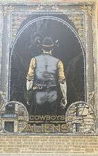 Cowboys and Aliens by Florian Bertmer, 2011 Poster