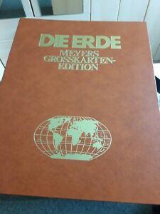 Die Erde. Meyers Grosskarten-Edition. 1978. 3-411-01742-2