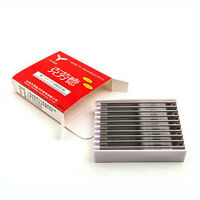 10pcs Replacement Hairdressing Hair Shaping, Cutting, Styling Razor Blades MG LJ