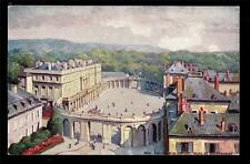 old French Tuck Hemicycle de la Carriere Palais Government Nancy France postcard