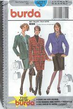 burda 3621 Misses' Jacket and Skirt 8 to 18 *Rare*   Sewing Pattern