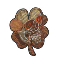 Funny skull ARMY Military TACTICAL MORALE BADGE HOOK & LOOP EMBROIDERY PATCH