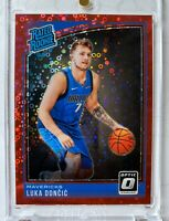 **RARE /85** 2018-19 Donruss Optic Fast Break Red Luka Doncic Rookie /85 MINT