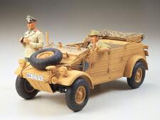 Tamiya 36202 1/16 German  KUBELWAGEN  ROMMEL Africa-Corps w/  WWII Tank Model