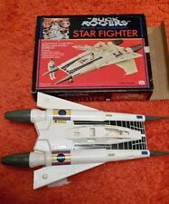 Mego Buck Rogers in the 25th Century Star Fighter toy used with repaired canopy