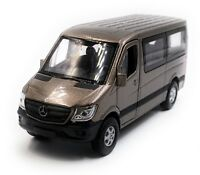 Mercedes Benz Sprinter Finestra Marrone Modellino Auto Scala 1:3 4 (Licenza)