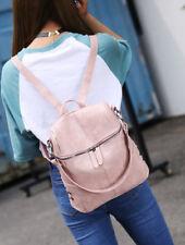 Rucksack Leather Shoulder Women Backpack Bag Satchel Travel School College Bags