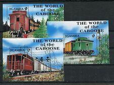 Gambia Block 126/128 postfrisch / Eisenbahn ..............................1/2437