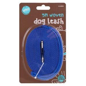 5M & 10M Dog / CAT Leash Recall Long Line Pet Puppy Training Lead Leash