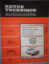Revue technique RENAULT 17 TL + 17 TS RTA N° 320 1973 R17 EVOLUTION RENAULT 6