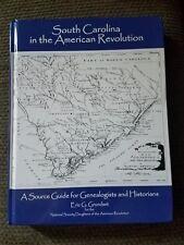 South Carolina in the American Revolution Genealogy History Eric Grundset FREE S