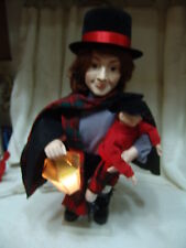 VINTAGE TELCO BOB CRATCHET WITH TINY TIM MOTIONETTE WORKS PERFECT