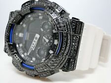 Casio G Shock Mens Jojo Joe Rodeo Aqua Master Black Simulated Diamond Watch